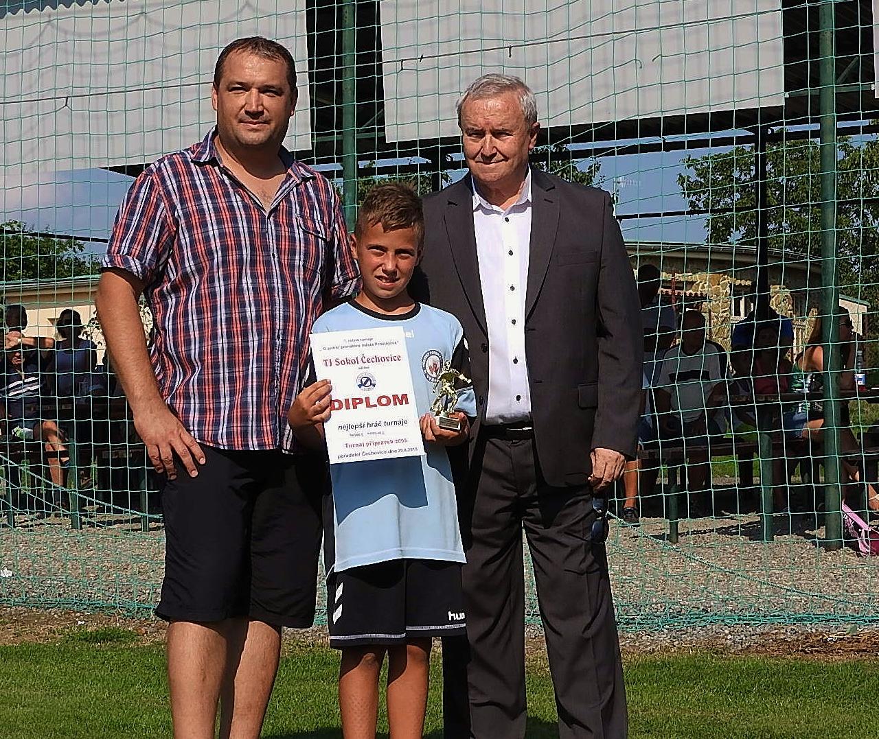 VII.ročník turnaje přípravek O pohár primátora města Prostějova.