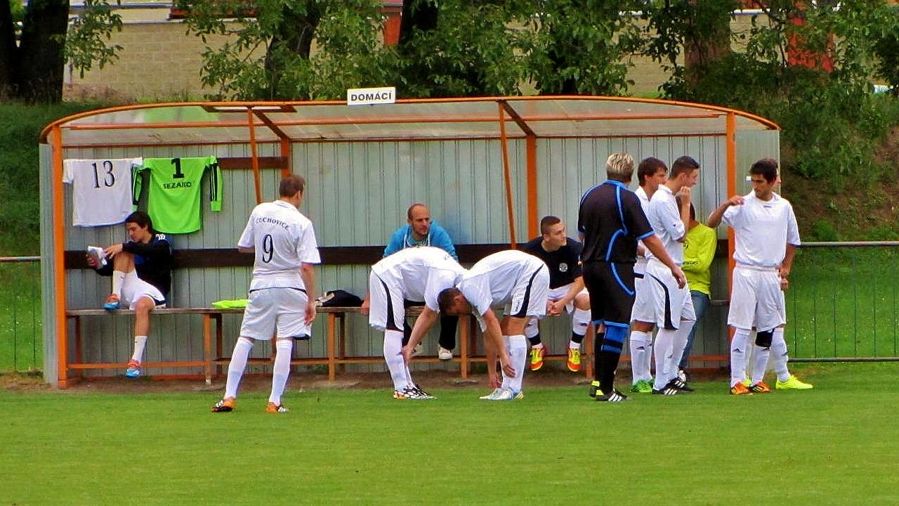 Semifinále okresního přeboru - Čechovice - Klenovice 1 : 0
