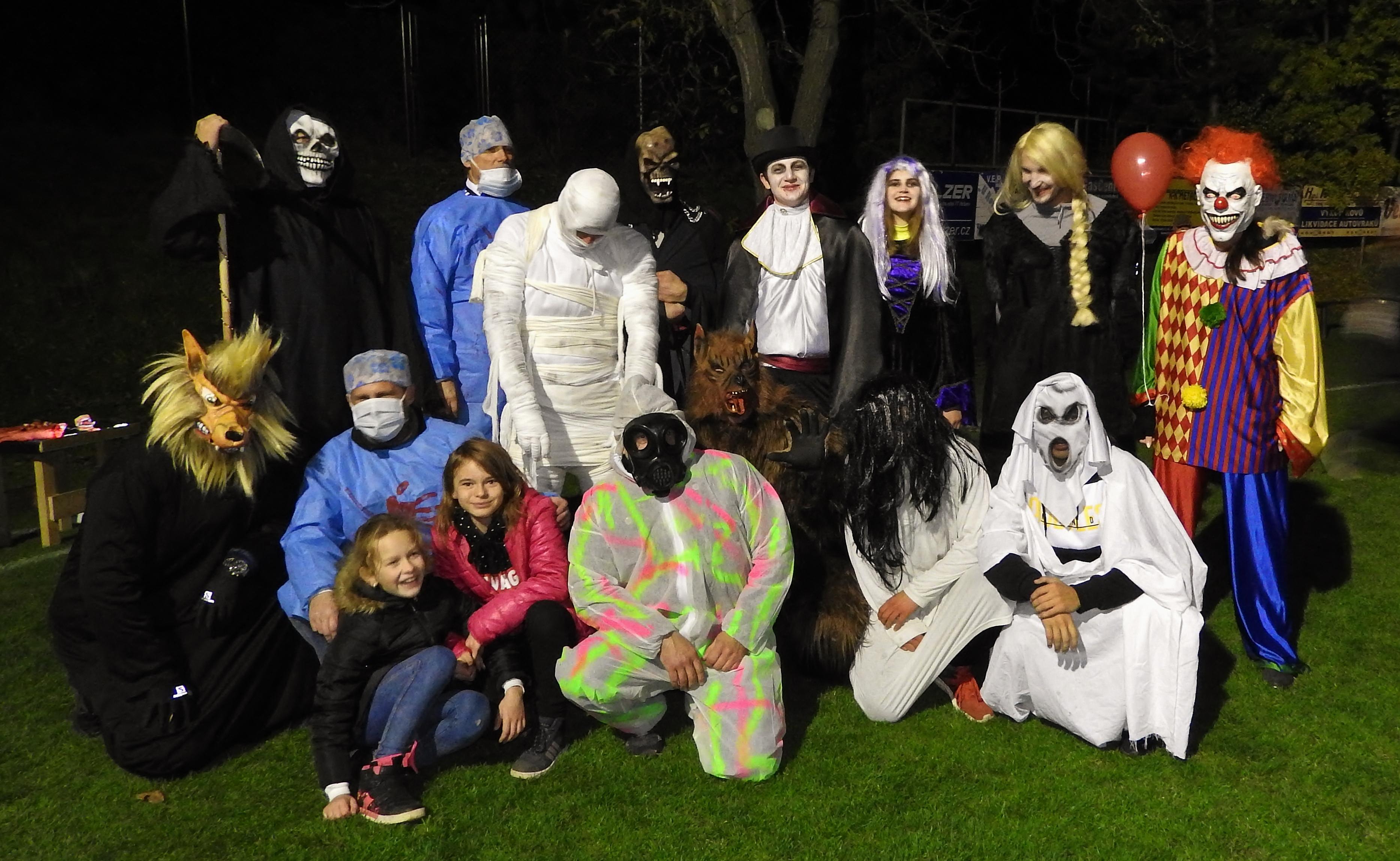 III. ročník Halloweenské fotbalové stezky