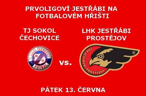 Tj Sokol Čechovice : LHK Jestřábi Prostějov