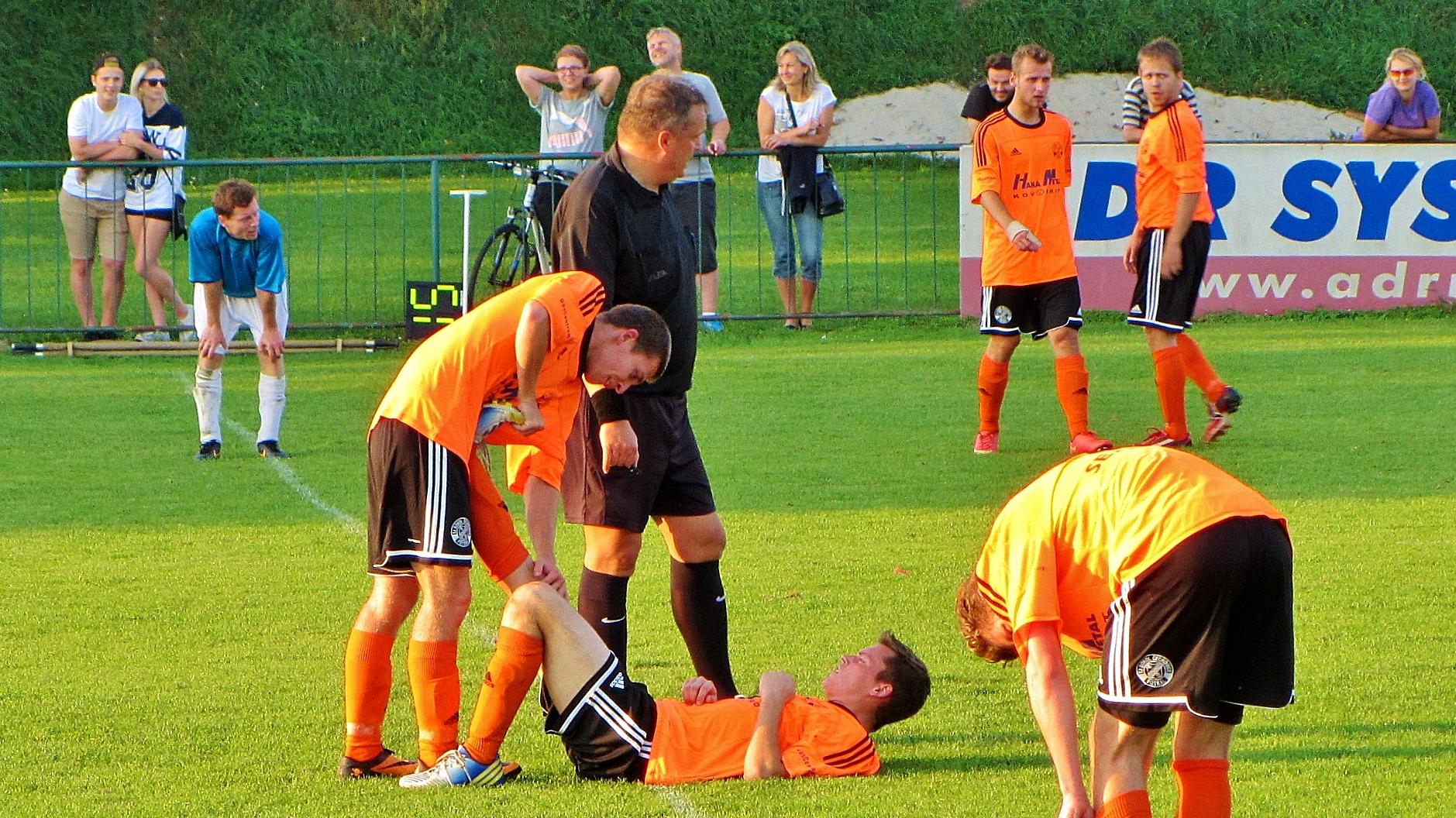 Sokol Čechovice - SK Náměšť 0:2 (0:1)